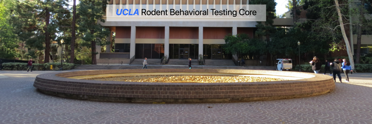 UCLA Behavioral Testing Core