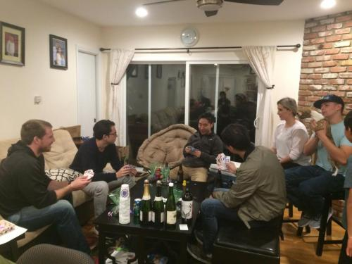 2018-3 Party at Yuqi's Place