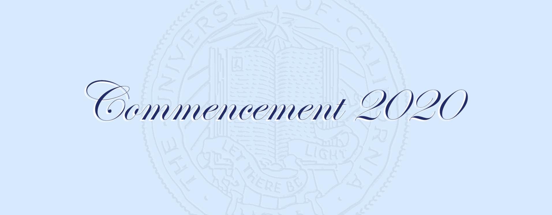 UCLA MCDB Commencement 2020