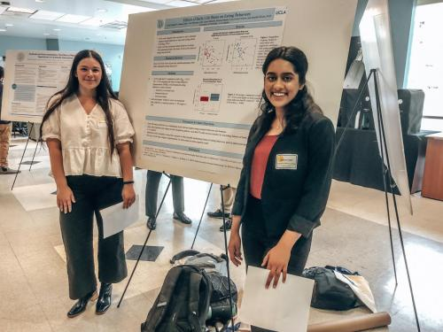 Ciara Mandich and Sakina Qadir Presenting at PURC 2019