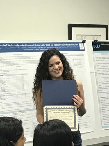 Casandra Gomez completes UCLA's Psychology Research Opportunity Program (PROPS)