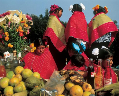 Day of the Dead, Nabenchauk cemetery, 1991.
