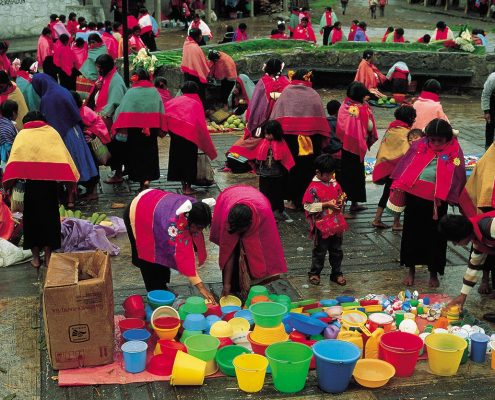 Saturday market, Nabenchauk, 1991.